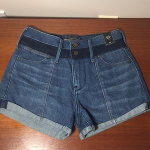 NWT Abercrombie and Fitch Shorts High waisted 24 2